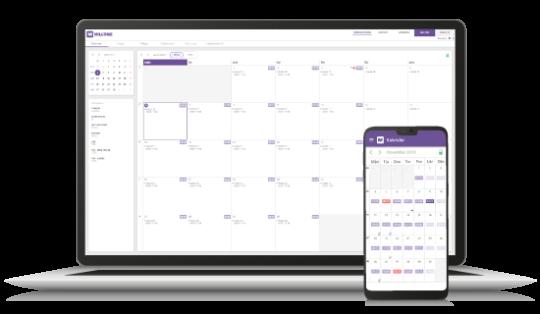 Konsultportal för tidrapportering via dator, mobil, surfplatta - Bemanning